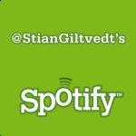 @StianGiltvedts Spotify favorittspillelister